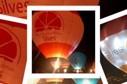 La marca 'Silves Capital de la Naranja' viaja en globo por Portugal