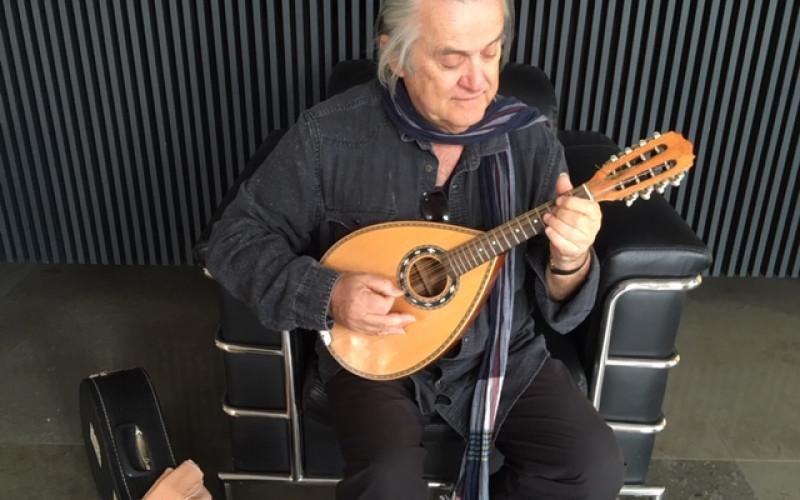 El músico 'Zé Maria' repasa su trayectoria en Loulé
