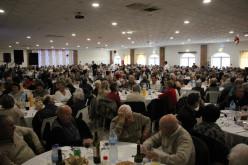 La Feria de Navidad une a 600 mayores de Castro Marim