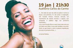 La cantante Lura actuará el próximo 19 de enero en Lagoa