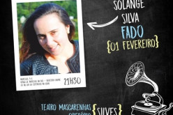 La fadista Solange Silva, en concierto en Silves