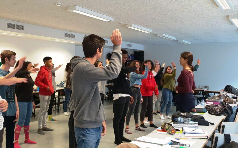 Apresentação pública do projeto A x E (arte vezes educação) em Loulé