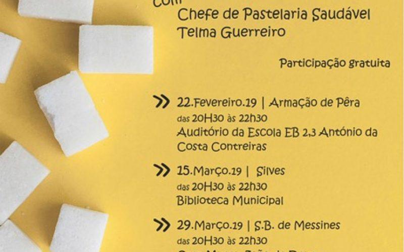 """Silves promove workshop sobre """"O açúcar como um vilão"""""""