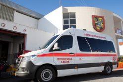 Presidente Francisco Martins entrega a quinta ambulância aos Bombeiros de Lagoa