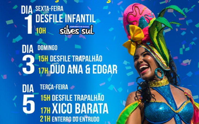 El Carnaval de Armação de Pêra transcurre los días 1, 3 y 5 de marzo