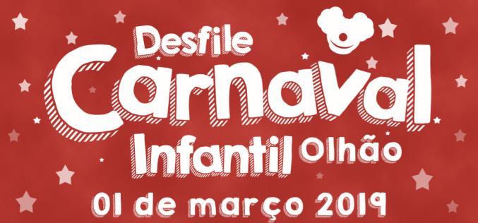 Los niños abren el Carnaval de Olhão