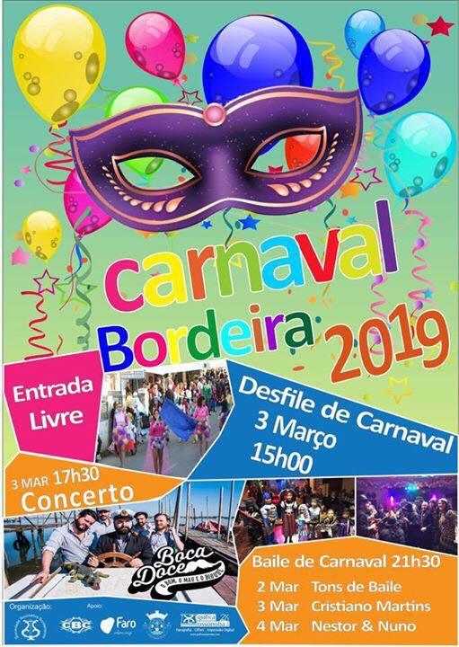 ¡El Carnaval de Bordeira 2019 promete!