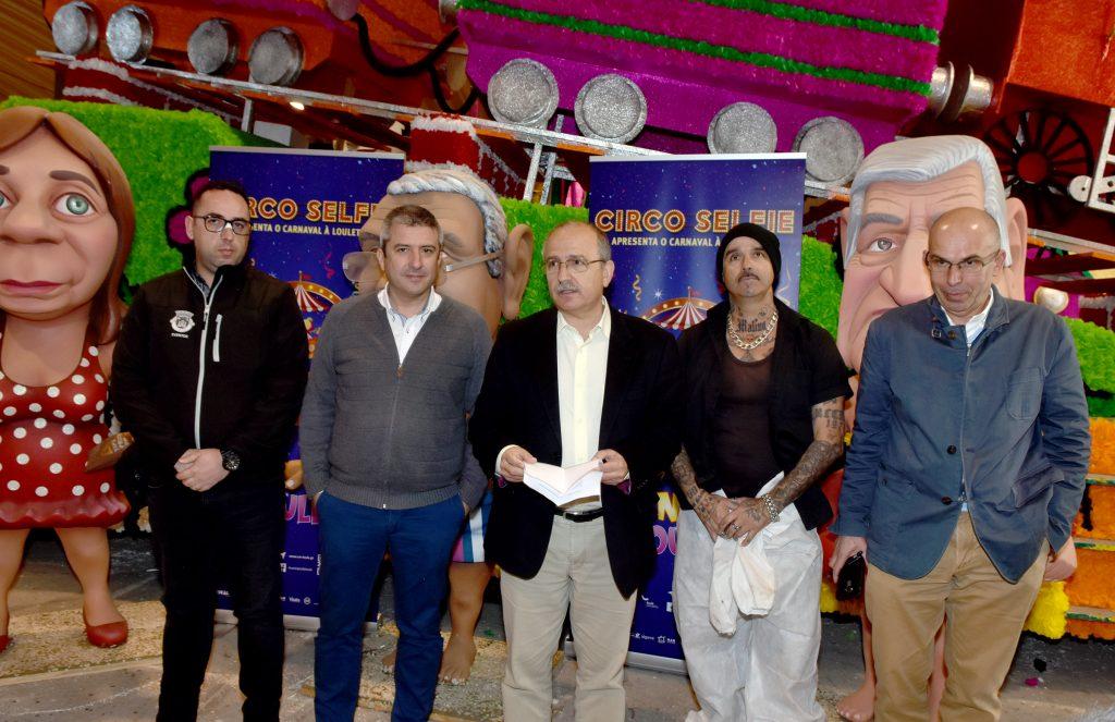 El Carnaval de Loulé satiriza política y selfies