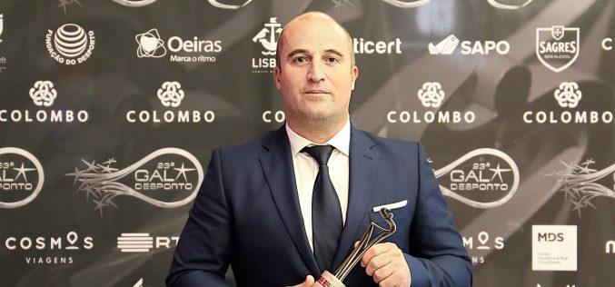 """El Alcalde de Vila do Bispo es galardonado con el premio """"Persona del Año"""""""