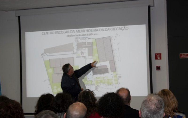 El nuevo Centro Escolar de la Mexilhoeira de Carregação va a ser un «ambiente innovador de aprendizaje»
