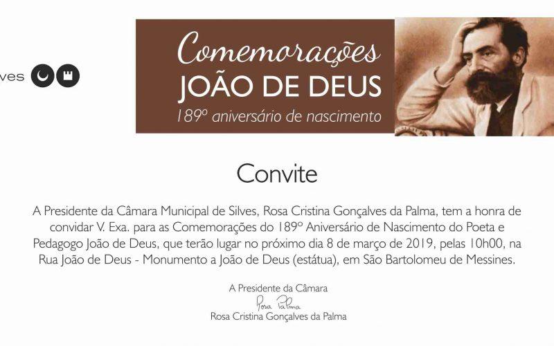 Comemorações de aniversário de João de Deus em SB Messines