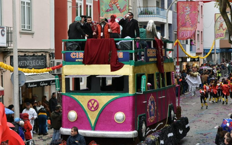 Paródia carnavalesca continuou em Loulé