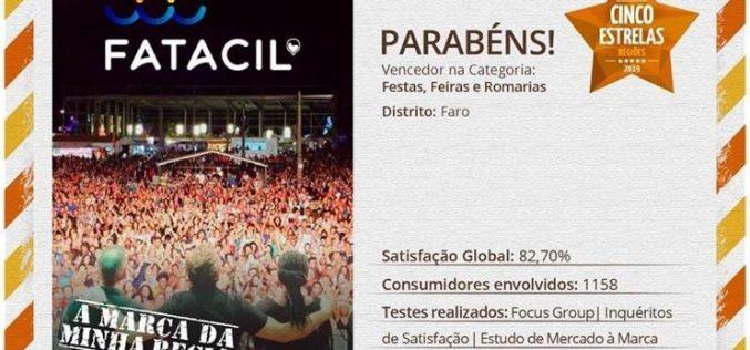 FATACIL gana el Premio Cinco Estrellas Regiones