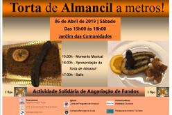 Torta solidária em Almancil