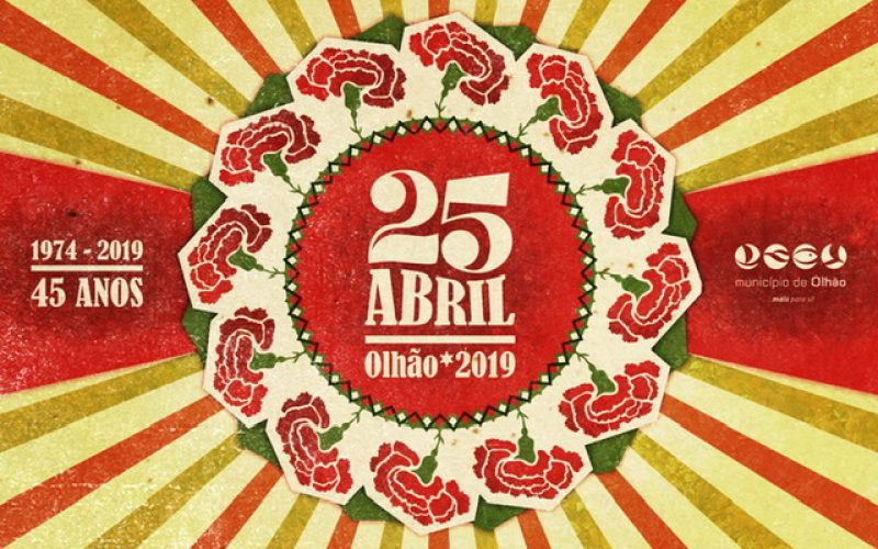 Olhão celebra los 45 años de la Revolución de los Claveles