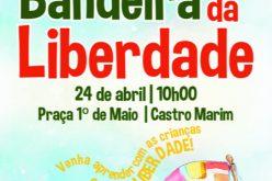 Castro Marim apresenta a Grande Bandeira da Liberdade