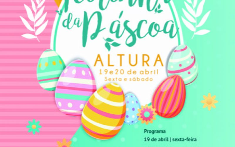 """Altura organiza la """"Feirinha de Pascua"""""""