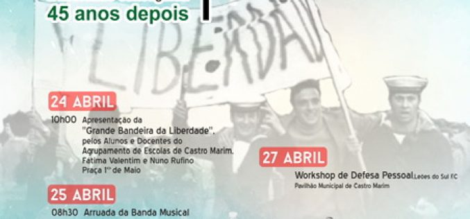 Castro Marim celebra el 25 de Abril con La Gran Bandera de la Libertad