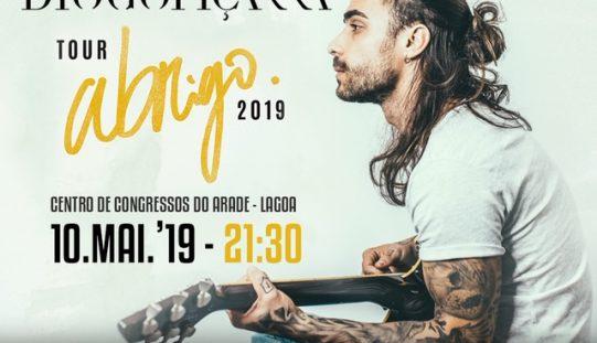 """Diogo Piçarra apresenta """"Abrigo: tour 2019"""""""