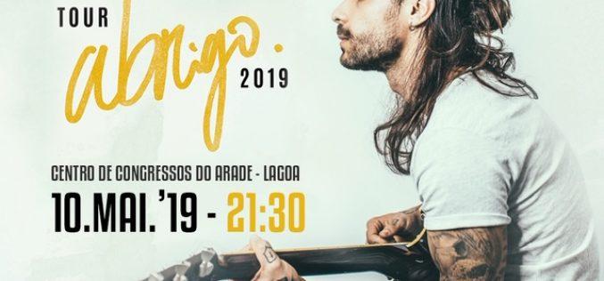 """Diogo Piçarra presenta """"Abrigo: Tour 2019"""""""