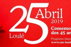 Loulé celebra el 45º aniversario del 25 de abril