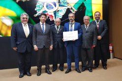 Olhão distinguido no Brasil reforça laços  com dois séculos