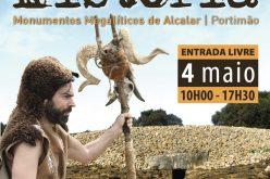 «Un día en la Prehistoria» vuelve a animar Alcalar (Portimão)