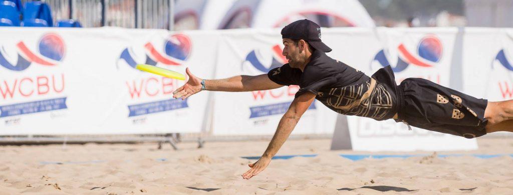 Portugal recibe por primera vez el torneo europeo Beach último (disco volador)