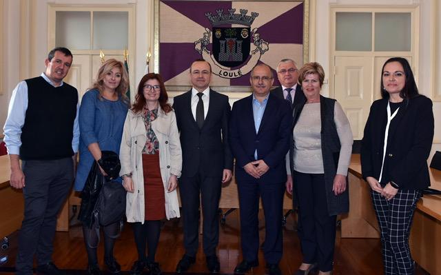 El Embajador de la República de Moldavia visitó Loulé