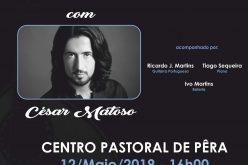 La tarde de Fado es animada por César Matoso en Silves