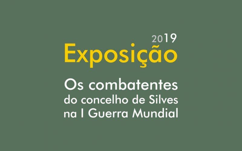 """""""Os combatentes do concelho de Silves na I Guerra Mundial"""" é visitável em Alcantarilha"""