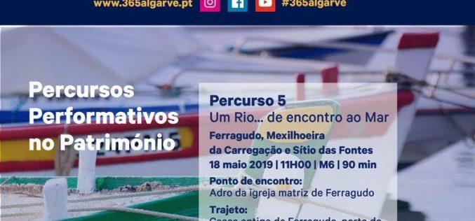 """Percursos Performativos no Património apresentam """"Um rio… de encontro ao mar"""""""