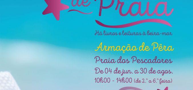 Silves vuelve a dinamizar la «Biblioteca de Playa» en Armação de Pêra