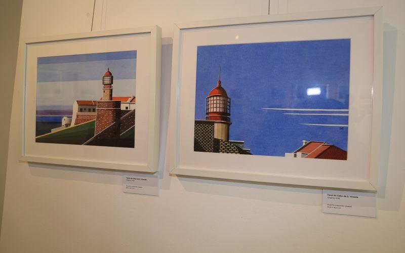 Vila do Bispo acoge la Exposición de pintura «El lugar de los faros»