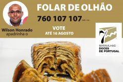 Wilson Honrado apadrina el hojaldre de Olhão en las 7 Maravillas Dulces