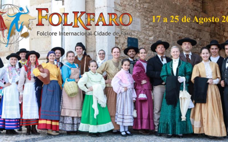 Faro conmemora los 89 años del grupo folclórico