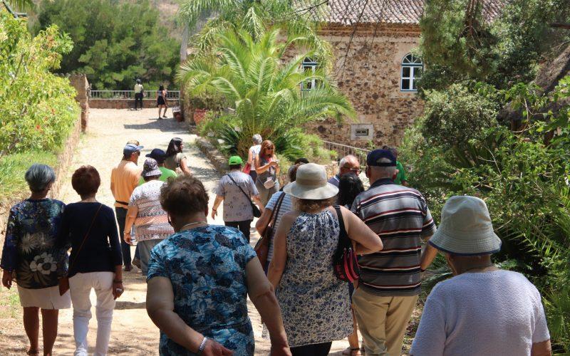 Faro levou idosos a passear