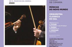 """Igreja matriz de São Marcos da Serra recebe """"Músicas do Mundo Novo"""""""