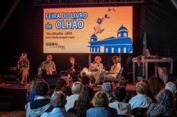 Gonçalo M. Tavares y Rita Redshoes inauguraron la Feria del Libro Olhanense