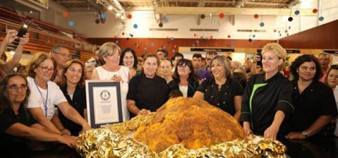 Lagos entra no Guinness World Records com um Dom Rodrigo de 126,7 kg