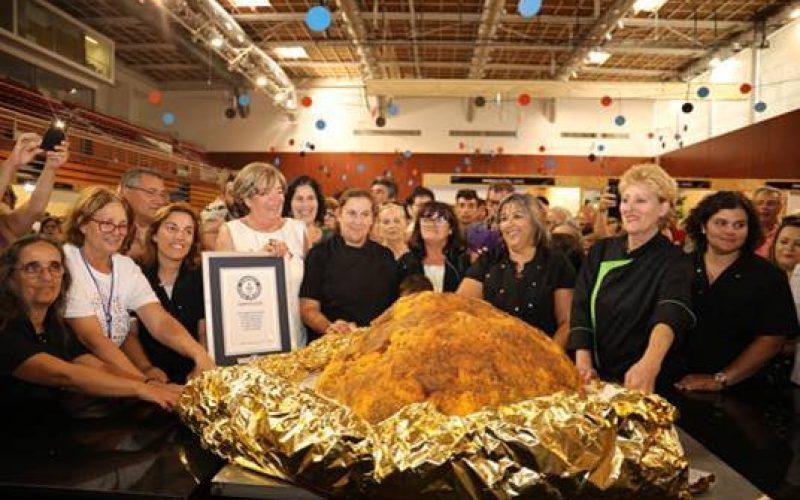 Lagos ingresa a los Récords Mundiales Guinness con un Dom Rodrigo de 126.7 kg