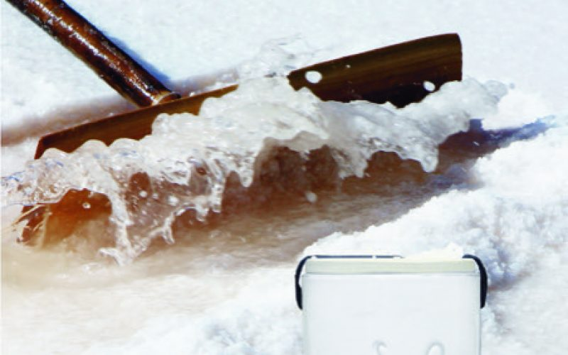 Sal y flor de sal de Castro Marim en la mesa del restaurante