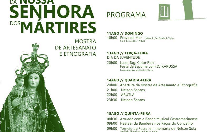 Castro Marim celebra las fiestas en honor de Nuestra Señora de los Mártires