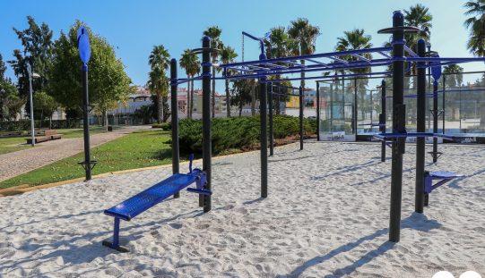 """Silves instala estaciones de """"entrenamiento en la calle"""""""