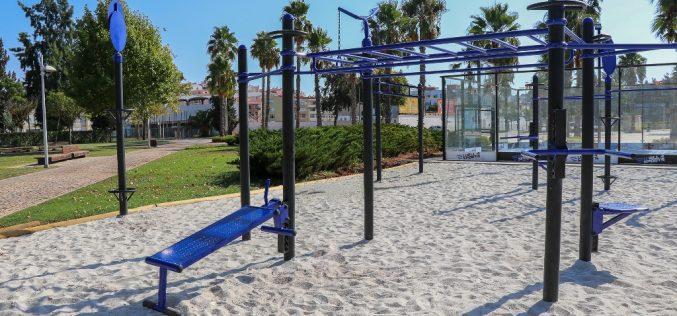 """Silves instalou estações de """"street workout"""" na zona ribeirinha"""