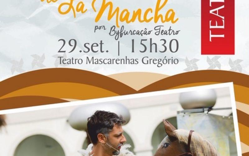 Dom Quixote de la Mancha sobe ao palco do teatro em Silves