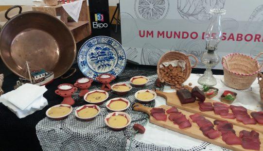 Lagoa llevó a la feria Santarém los tesoros de la gastronomía del Algarve
