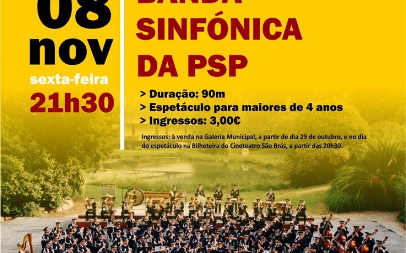La Banda Sinfónica PSP actuará en el Cineteatro de São Brás