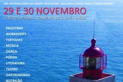 Lagoa, marca o dia internacional das Cidades Educadoras