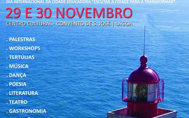 Lagoa marca el Día Internacional de Ciudades Educadoras